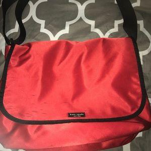 Kate spade messenger bag (red)